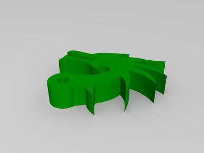 钥匙扣-3d打印模型