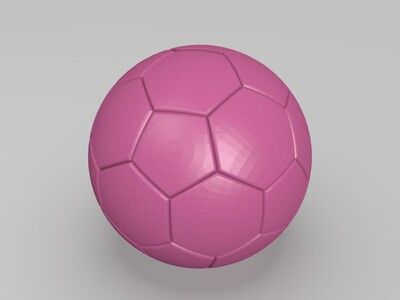足球存钱罐-3d打印模型