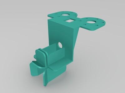 电机座-3d打印模型