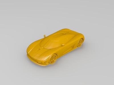 科尼塞克-3d打印模型