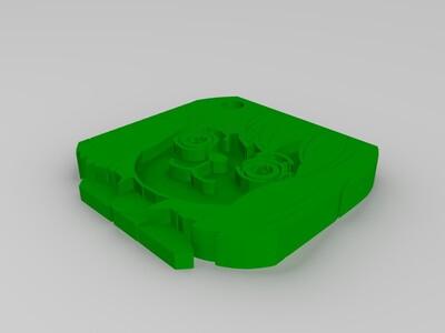 加洛特钥匙扣-3d打印模型