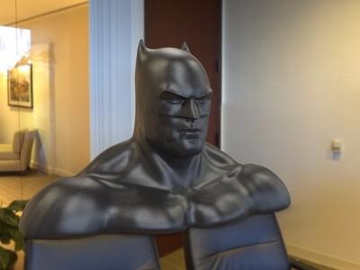 蝙蝠侠V2像-3d打印模型