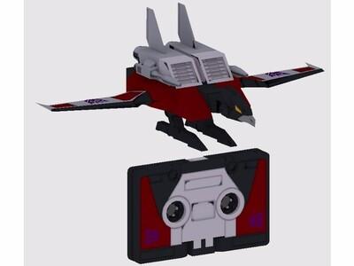 磁带状变形金刚-3d打印模型