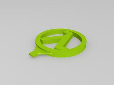 半条命-3d打印模型