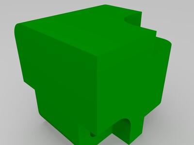 无限翻魔方-3d打印模型