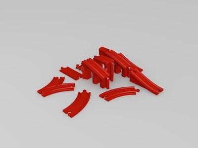 铁轨-3d打印模型