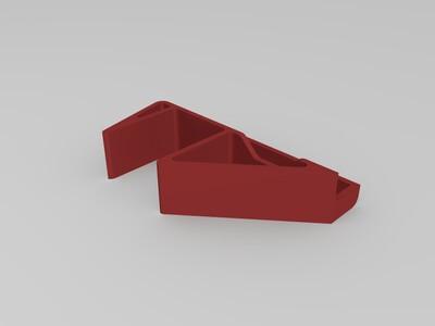 小米蓝牙音箱手机支架-3d打印模型