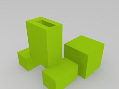 minecraft u盘-3d打印模型