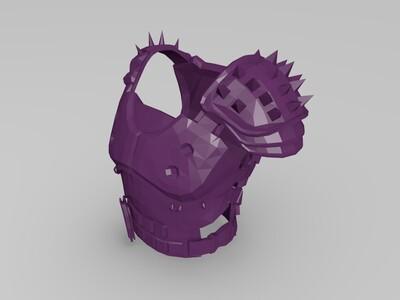 吃鸡-防具(含未知新防具)-3d打印模型