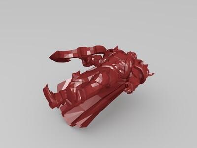 诺手-德莱厄斯-皮肤-3d打印模型