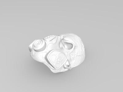 骷髅吊坠-3d打印模型