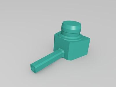炮艇-3d打印模型