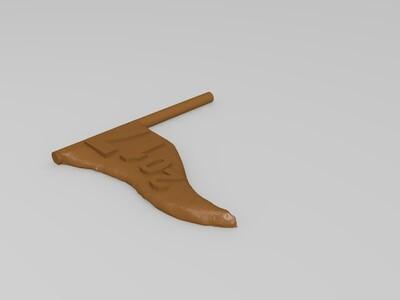 圣诞猩猩-3d打印模型