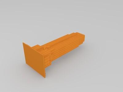 iPhone小喇叭-3d打印模型