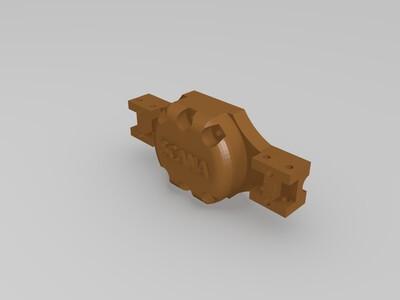 重卡后桥-3d打印模型