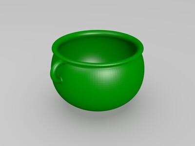 鼎状花盆-3d打印模型