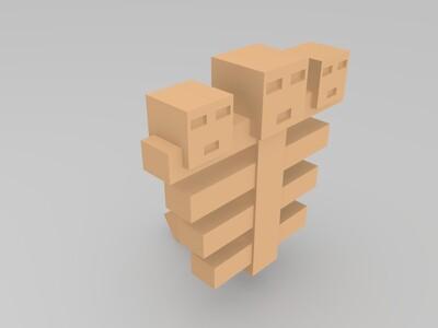凋零-3d打印模型