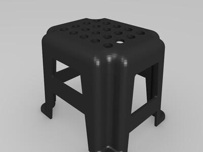 凳子-3d打印模型