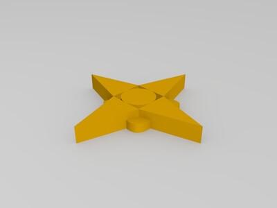飞镖-3d打印模型