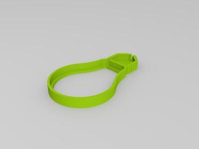 灯带灯泡-3d打印模型