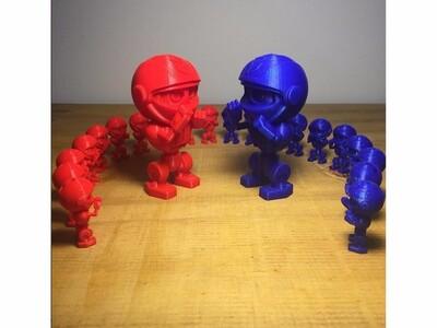 拳击小人-3d打印模型