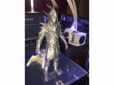 游戏 龙鳞甲-3d打印模型