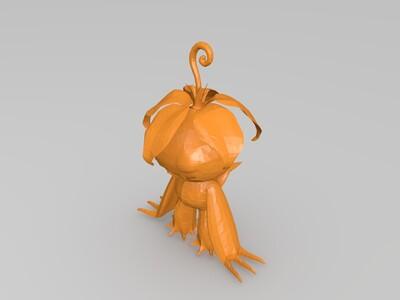 数码宝贝成熟体-3d打印模型