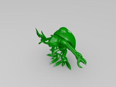 数码宝贝究极-3d打印模型
