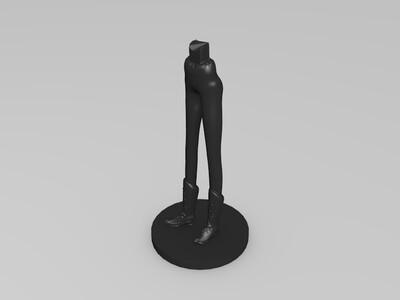 安娜-3d打印模型