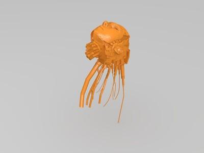 机器头-3d打印模型