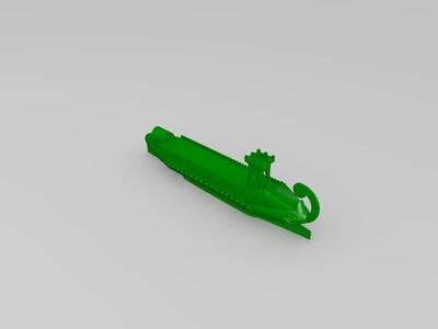 罗马战船-3d打印模型