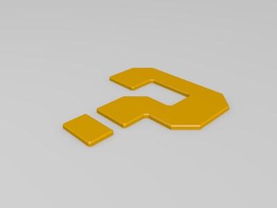 马里奥问题模块-3d打印模型