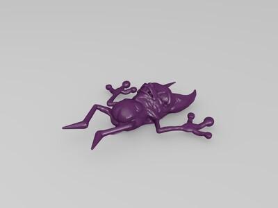 兔牙小鬼-3d打印模型