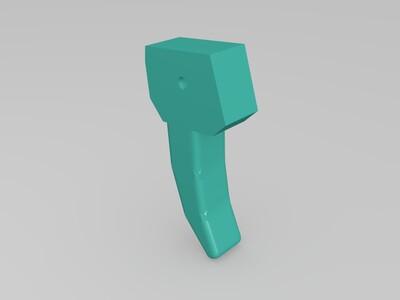 G1 Q版 威震天 可变形-3d打印模型