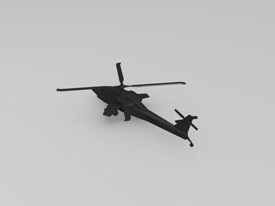 直升机-3d打印模型