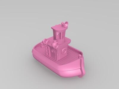 浴缸船-3d打印模型