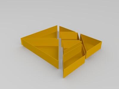 七巧花盆-3d打印模型