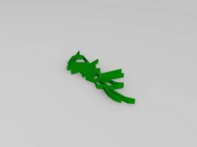 Low Poly风格 蚂蚁装饰-3d打印模型