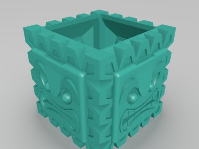 怪兽盒子-3d打印模型