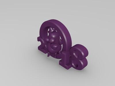 2018-3d打印模型