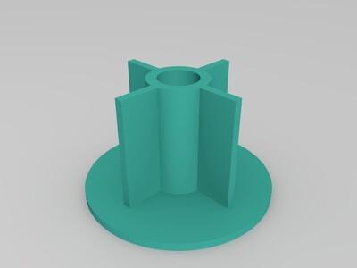 轴承料托-3d打印模型