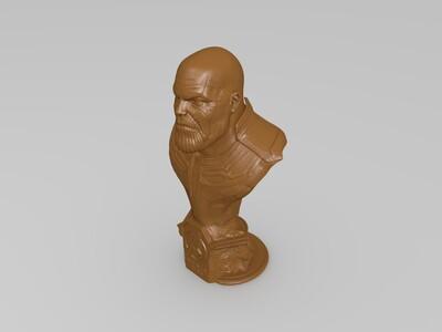 塔诺斯(复仇者联盟 )-3d打印模型