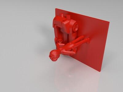 QQ飞车-3d打印模型