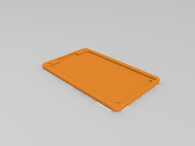 Atmel-ICE 外壳 保护壳-3d打印模型