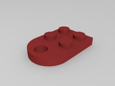 乐高船-3d打印模型