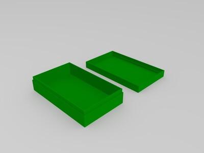 小盒子-3d打印模型