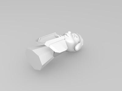 小狗拜年-3d打印模型