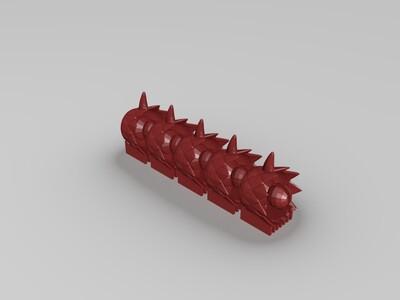 大海蛇-3d打印模型