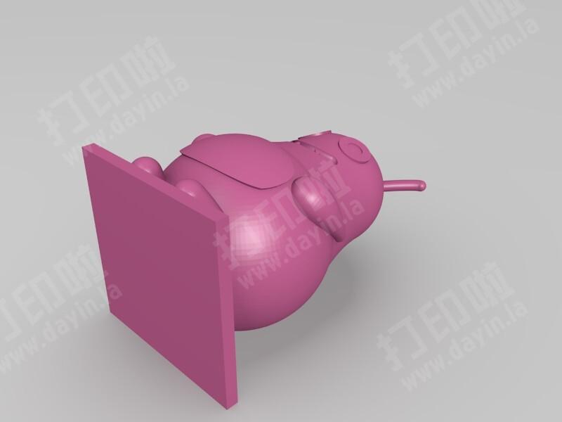 小怪兽-3d打印模型