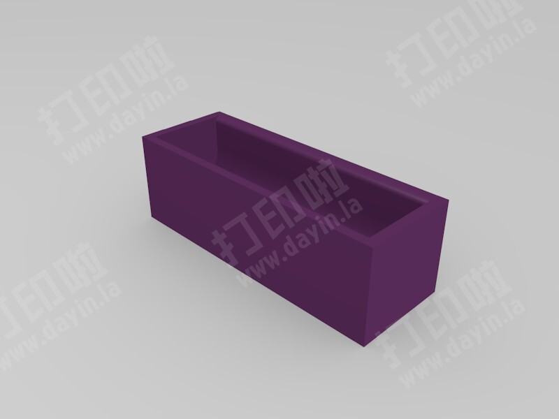 电池盒子-3d打印模型